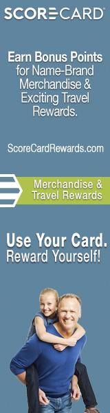 score card earn bonus points for name brand merchandise and exciting travel rewards scorecardrewardscom merchandise and travel rewards use your card reward yourself
