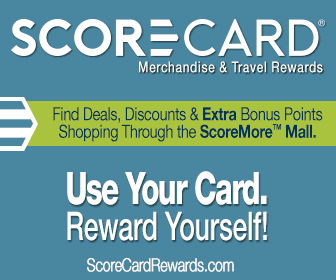 score card merchandise and travel rewards find deals discounts and extra bonus points shopping through the scoremore mall use you card reward yourself scorecardrewardscom