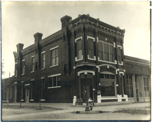 original conway bank branch building